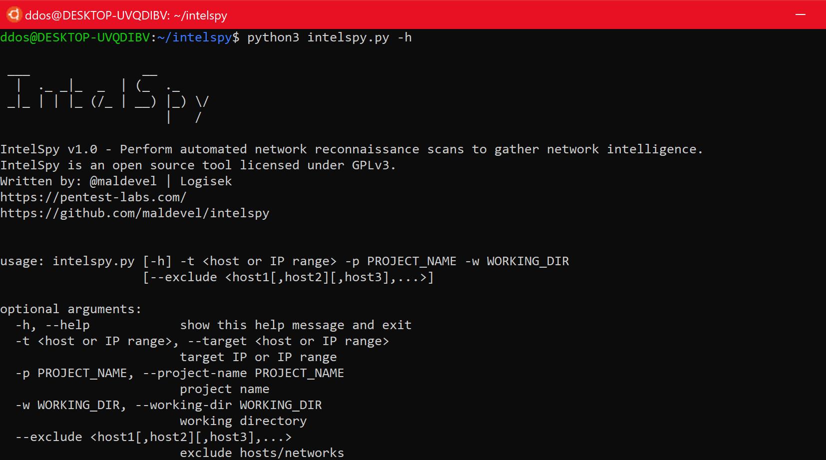 automated network reconnaissance