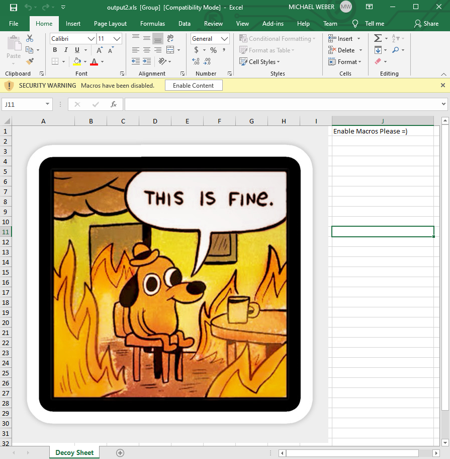 Macrome v0.2.2 releases: Excel Macro Document Reader/Writer for Red Teamers & Analysts