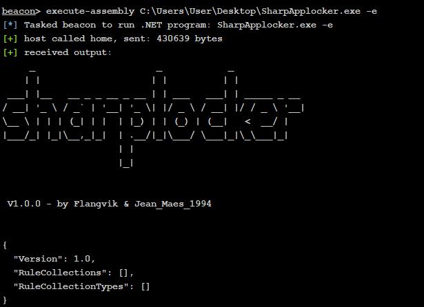 SharpAppLocker - C# Port Of The Get-AppLockerPolicy PS Cmdlet