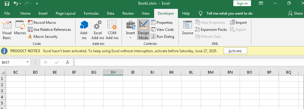 "Social Engineering Using ""Hidden"" Macros In Excel"