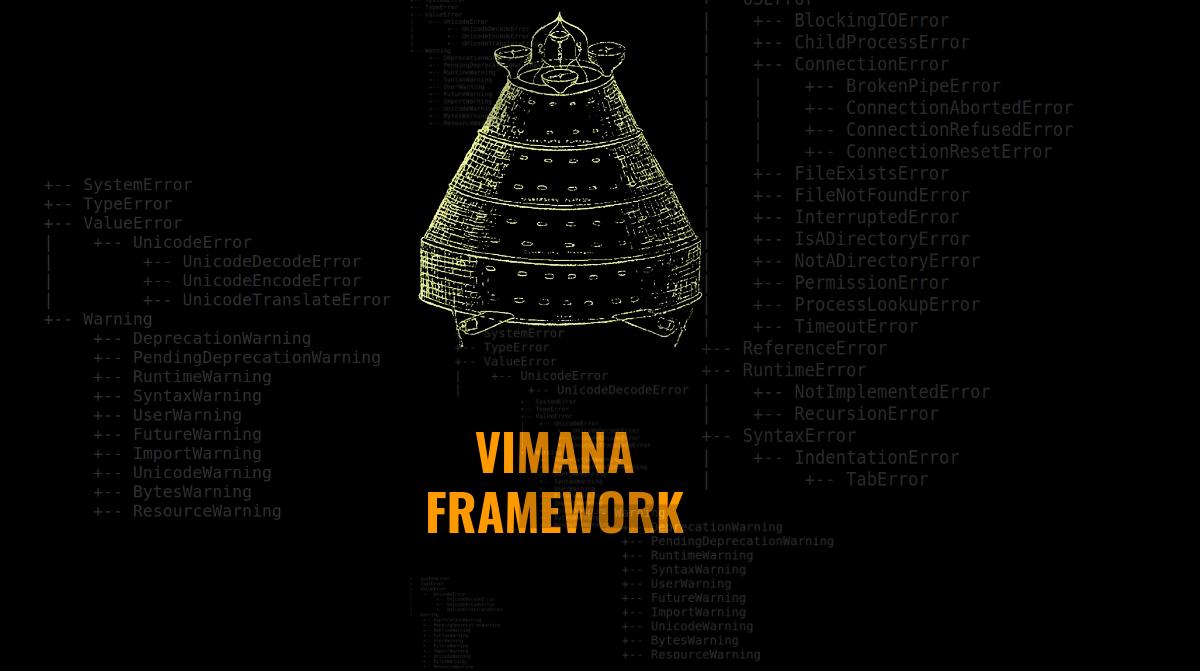 Vimana Framework: modular security framework designed to audit Python web applications
