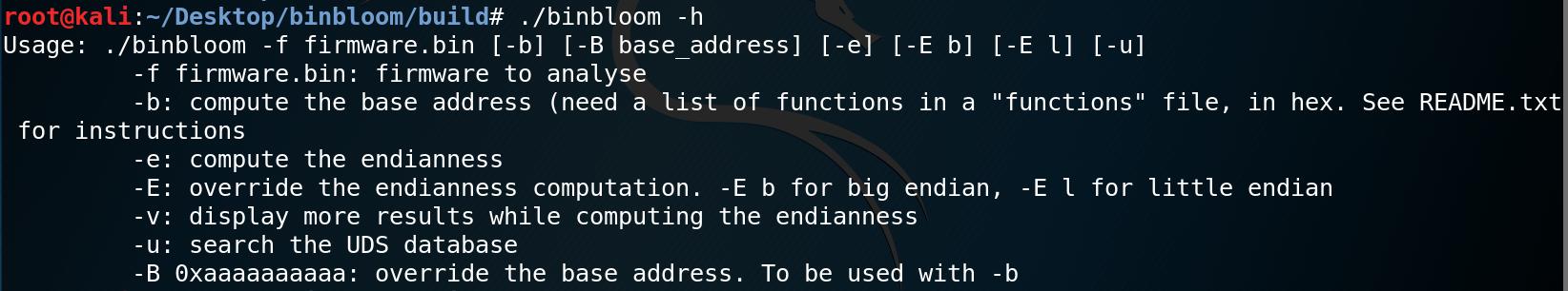 Binbloom – Raw Binary Firmware Analysis Software