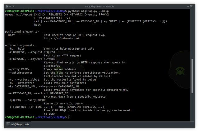 N1QLMap – The Tool Exfiltrates Data From Couchbase Database By Exploiting N1QL Injection Vulnerabilities