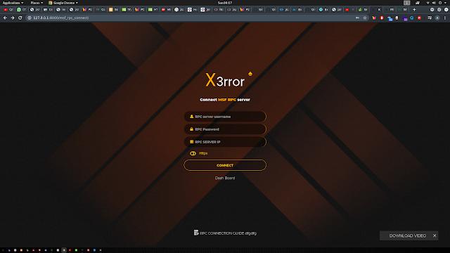 Xerror – Fully Automated Pentesting Tool