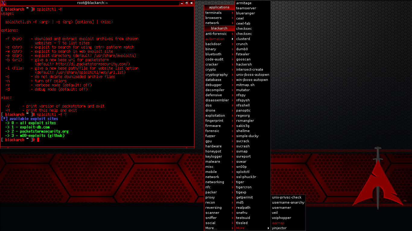 BlackArch Linux 2020.12.01 Releases: Linux kernel 5.9.11, added more than 100 new tools