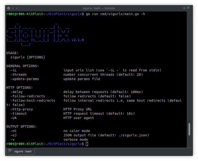 Sigurlx – A Web Application Attack Surface Mapping Tool