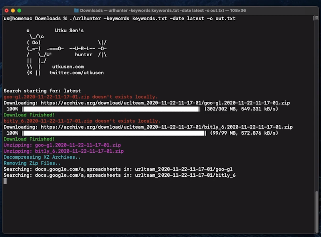 Urlhunter – A Recon Tool That Allows Searching On URLs That Are Exposed Via Shortener Services