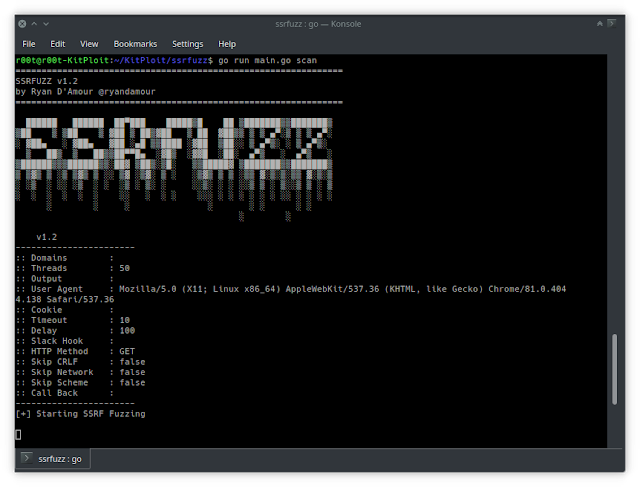 SSRFuzz - A Tool To Find Server Side Request Forgery Vulnerabilities, With CRLF Chaining Capabilities