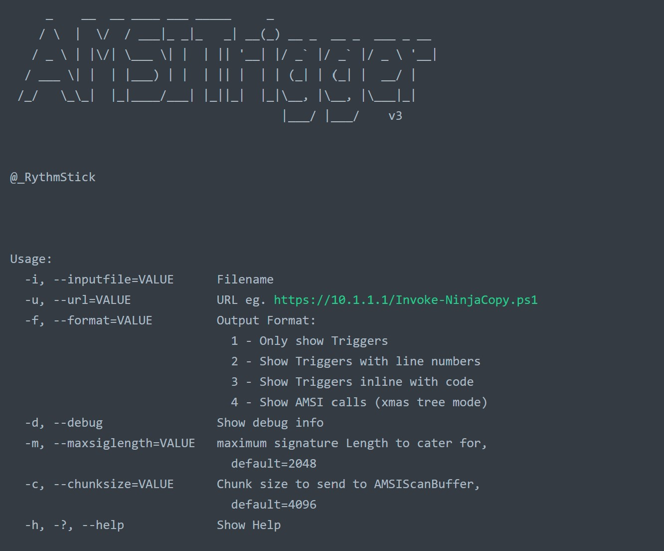 AMSITrigger: The Hunt for Malicious Strings