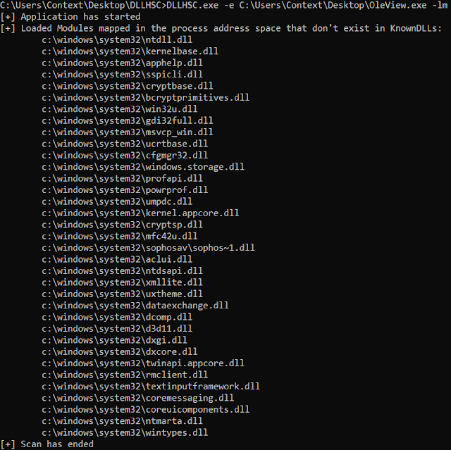 DLLHSC – DLL Hijack SCanner A Tool To Assist With The Discovery Of Suitable Candidates For DLL Hijacking
