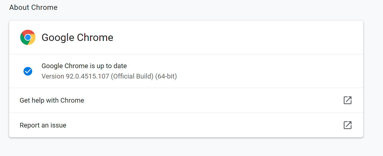 Google Chrome updated to 92.0.4515.107 to enhance security and reduce power consumption