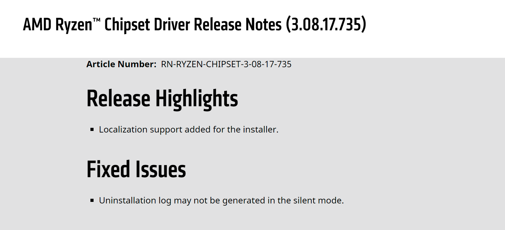 AMD chipset driver vulnerability