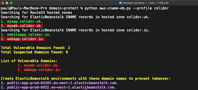 Domain-Protect – Protect Against Subdomain Takeover